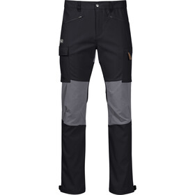 Bergans Nordmarka Hybrid Pants Men black/solid dark grey